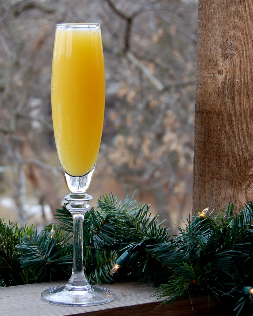 Easy vegan meals holiday drink for Cocktail mimosa