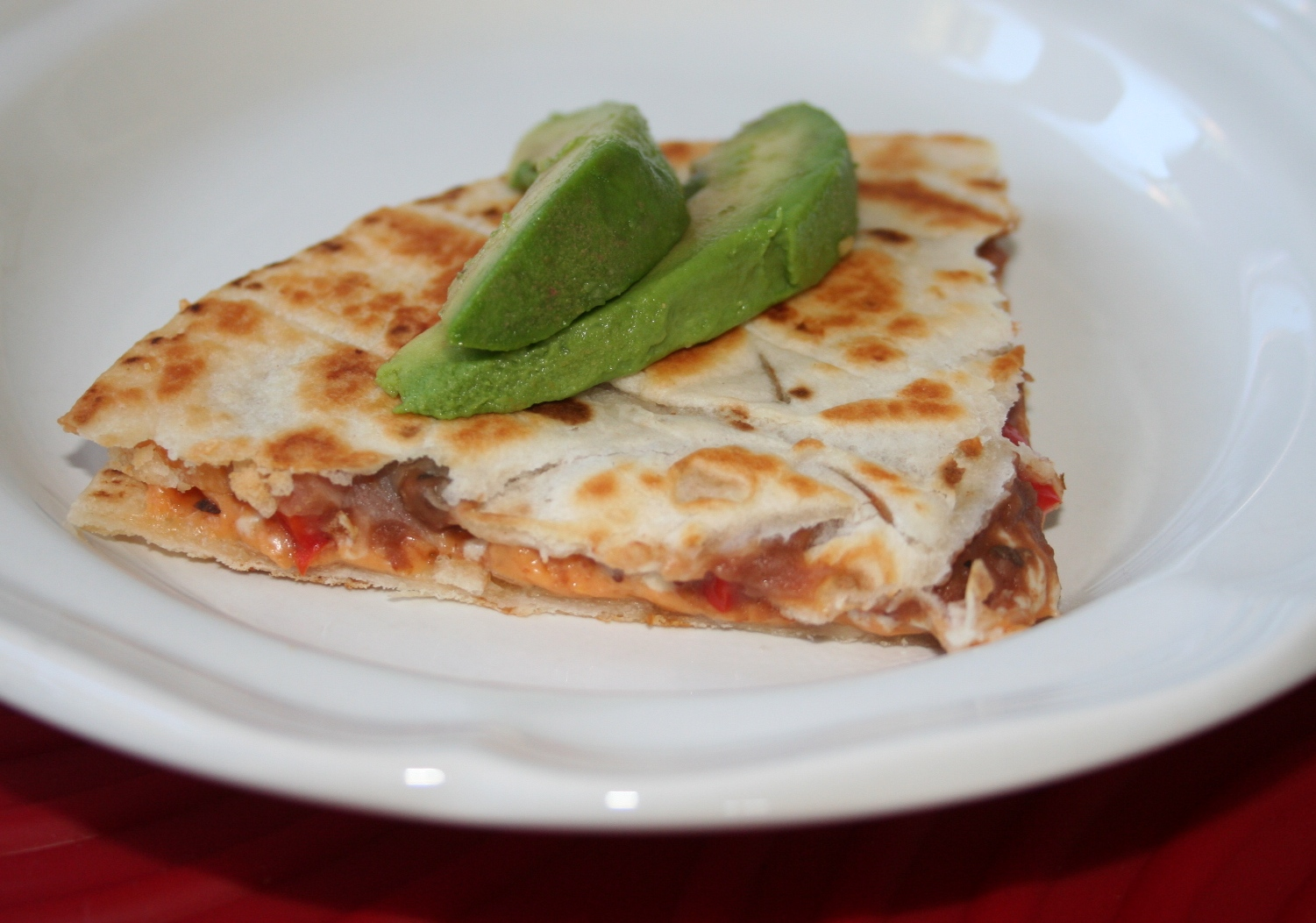 Easy Vegan Meals » Blog Archive » Cheese Quesadilla