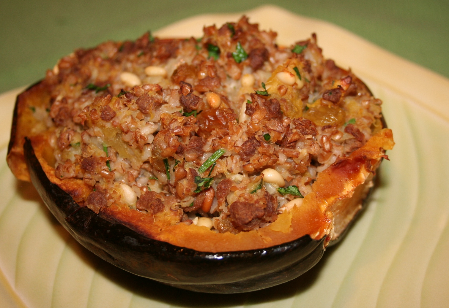 Easy Vegan Meals » Blog Archive » Stuffed Acorn Squash