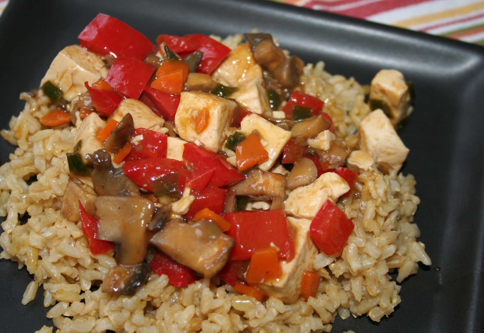 asian stir fry try this tofu and let me asian tofu with stir fried ...